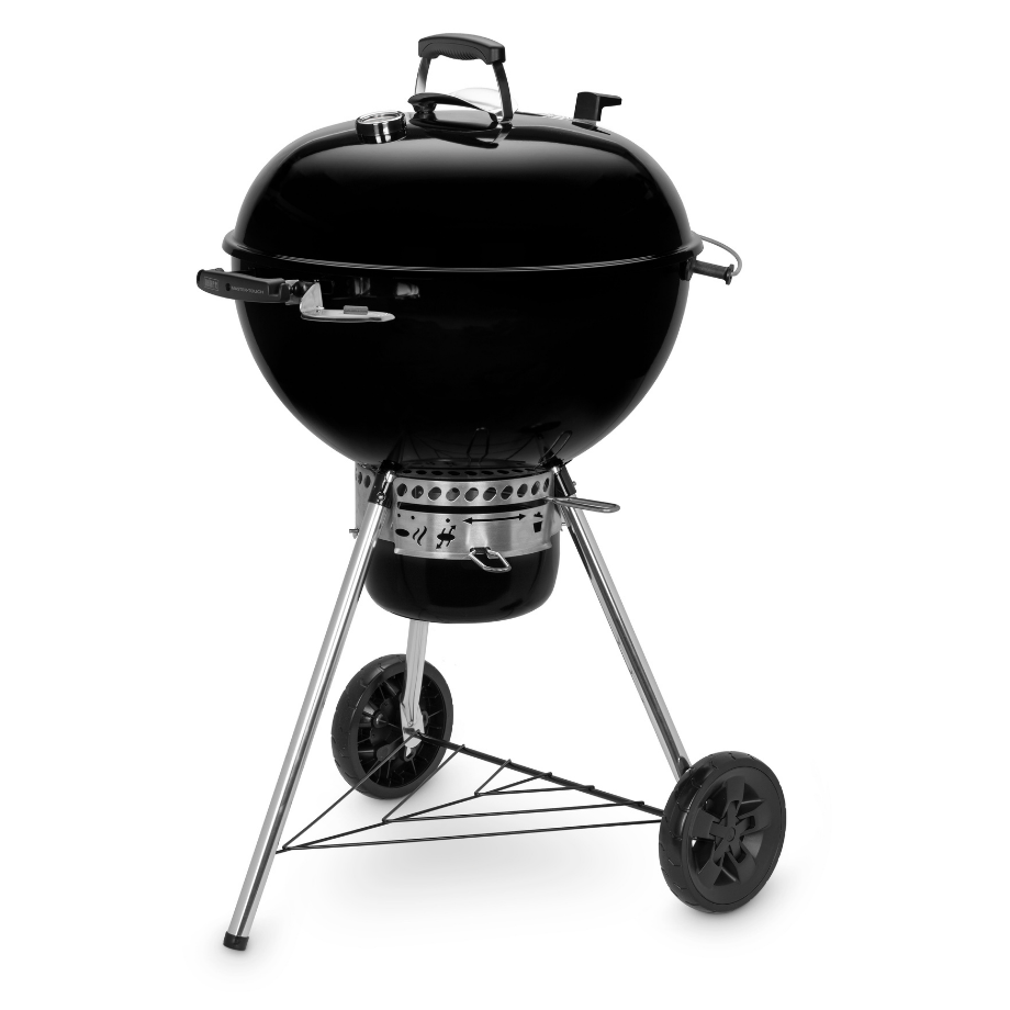 Weber 57cm Master Touch Plus Kettle with Gourmet Barbecue System Grill