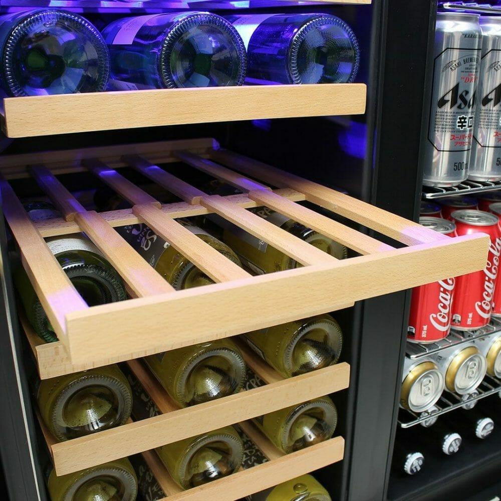 Schmick Under Bench Beer And Wine Dual Zone Bar Fridge - JC165