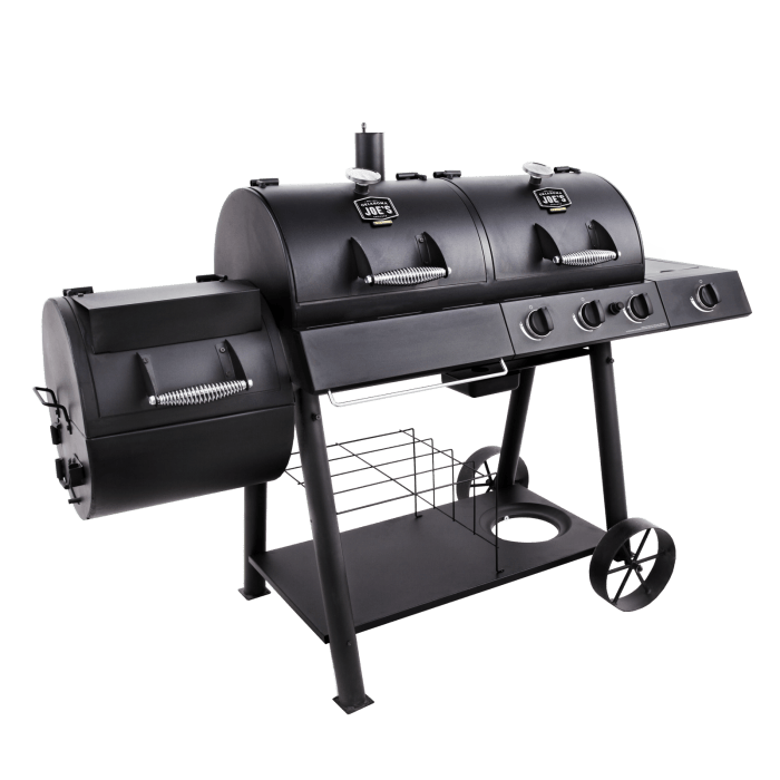 Oklahoma Joe's Longhorn Combo Gas / Charcoal