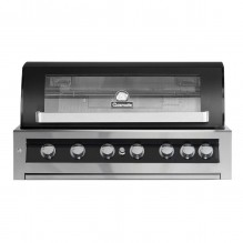 Gasmate Galaxy Black 6 Burner Built-In BBQ
