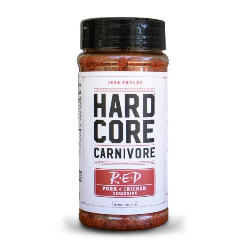 Hardcore Carnivore Rub - Red