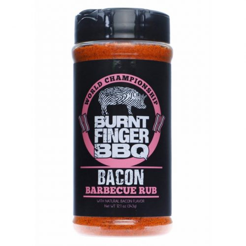 Burnt Finger - Bacon Rub