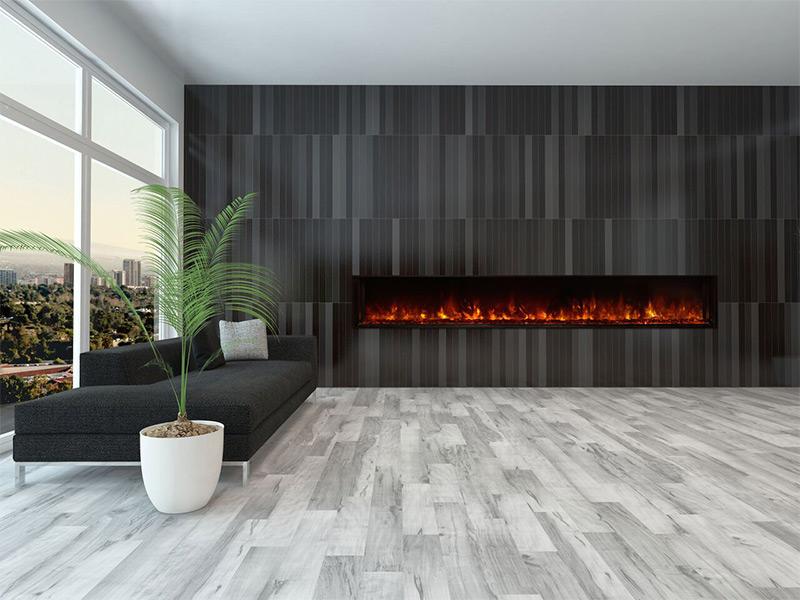 Modern Flames 2.5m Landscape Fullview