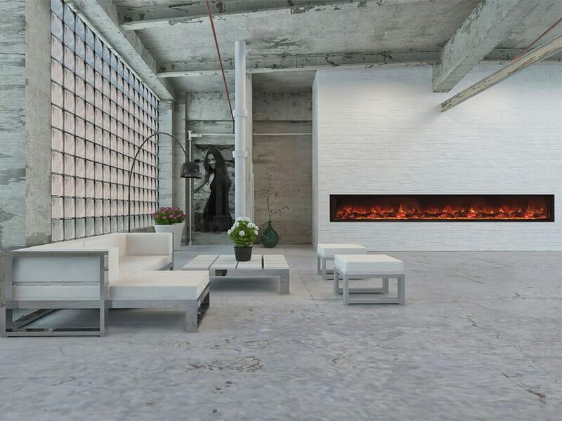Modern Flames 3m Landscape Fullview