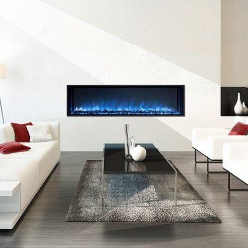 Modern Flames 1.5m Landscape Fullview