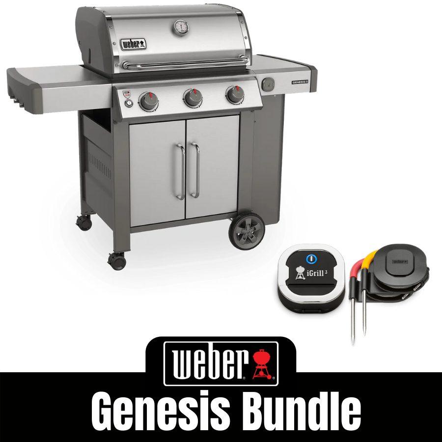 Weber Genesis II S315 - FREE iGrill 3
