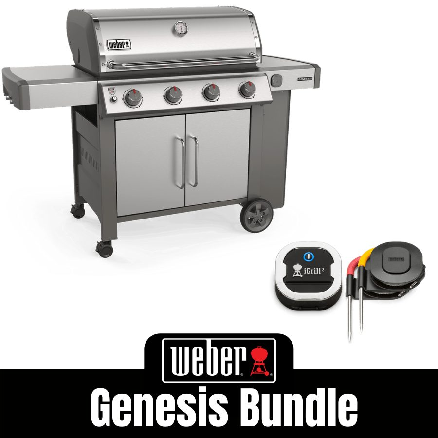Weber Genesis II S415 - FREE iGrill 3