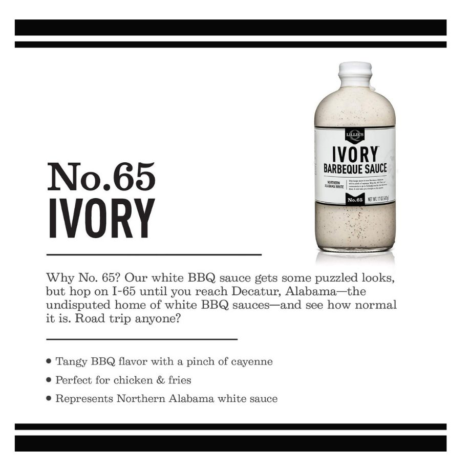 Lillies Q - Ivory Barbeque Sauce - LIMITED STOCK