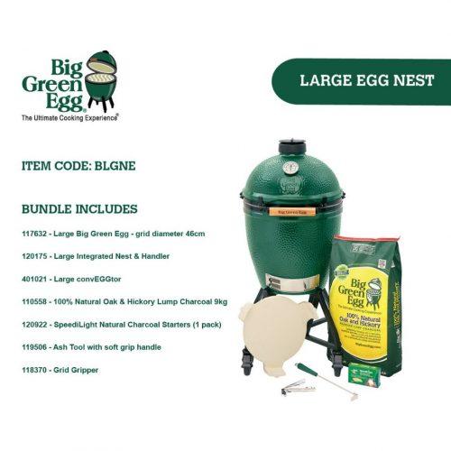 Big Green Egg Medium Integrated Nest Bundle
