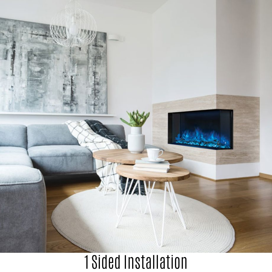 "Modern Flames - Landscape Pro Multi - 44"""