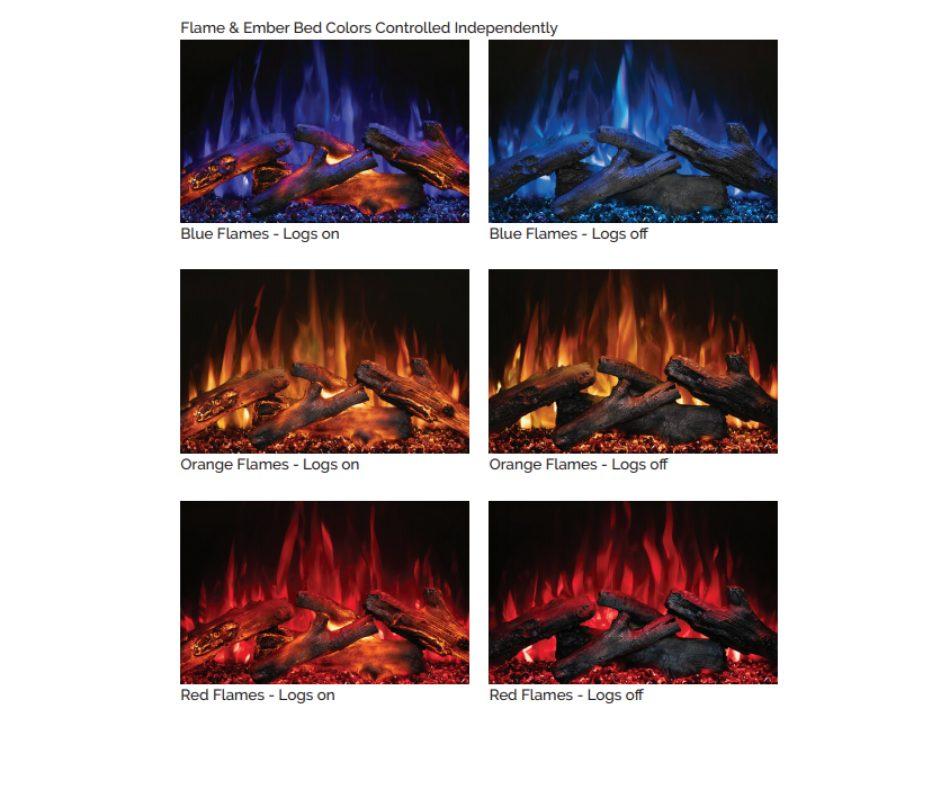 "Modern Flames - Redstone 30"" Series"
