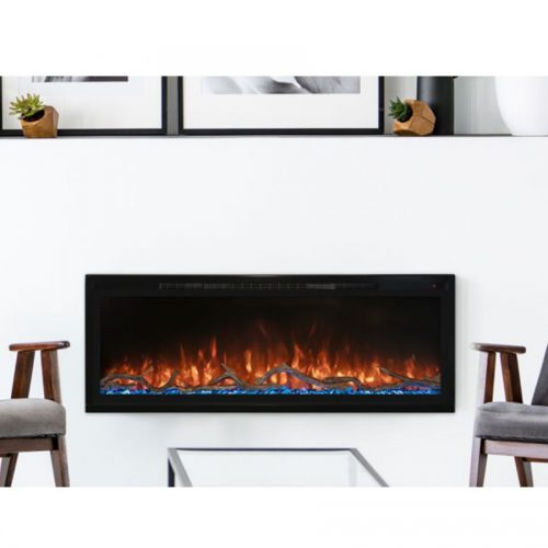 """Modern Flames - Spectrum 50"""" Slimline with Log Set"""