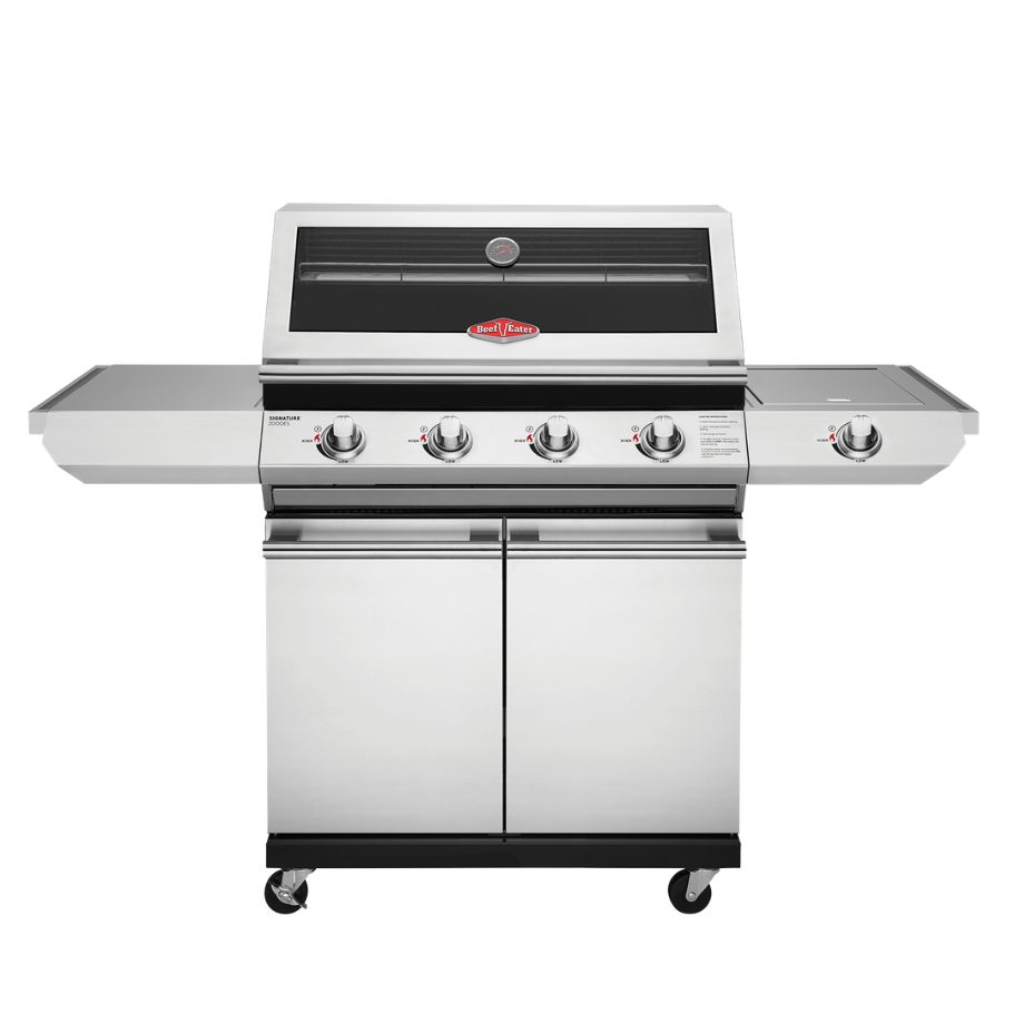 BeefEater Signature 2000SS 4 Burner with Side Burner