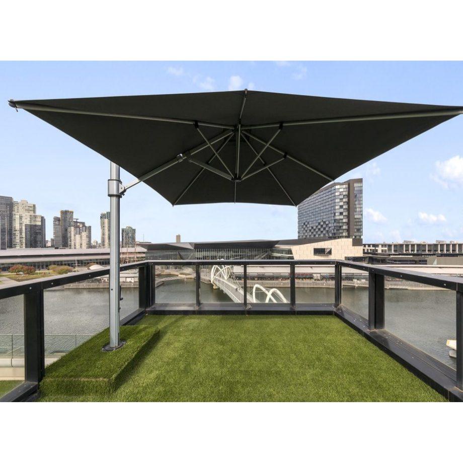 Instant Shade Umbrella's - Eclipse - 3x4m Rectangle - Acrylic