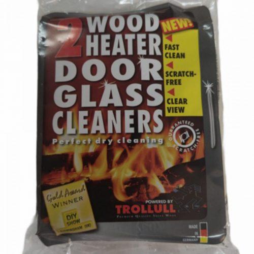 Wood Heater Glass Door Cleaner 2Pk