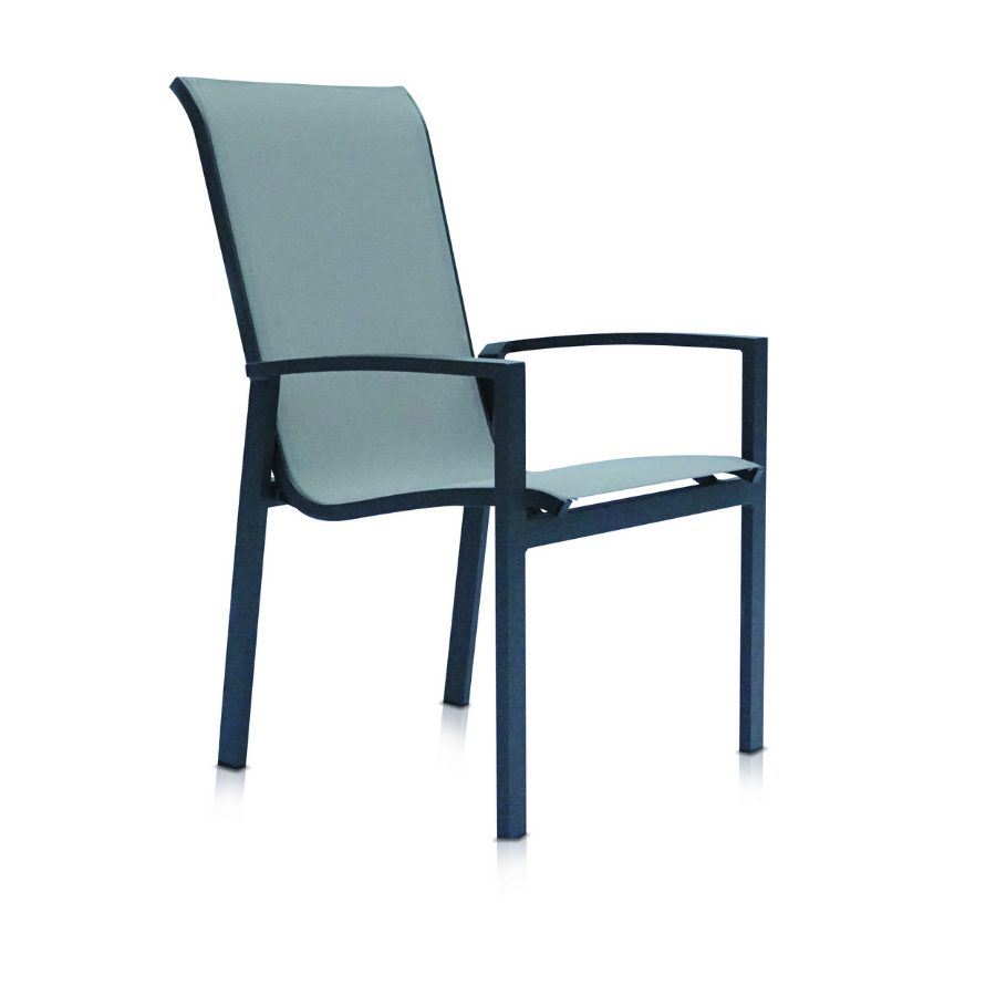 Shelta - Castella Dining Chair - Charcoal