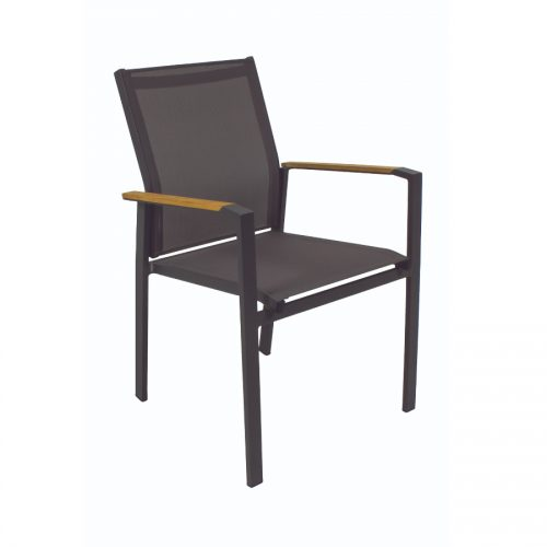 Shelta - Empire Dining Chair - Charcoal