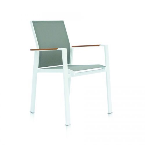 Shelta - St. Malo Dining Chair - White