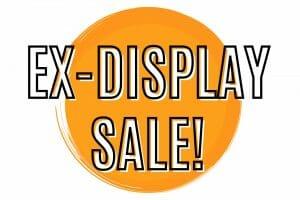 Promotional tile for ex-display sale
