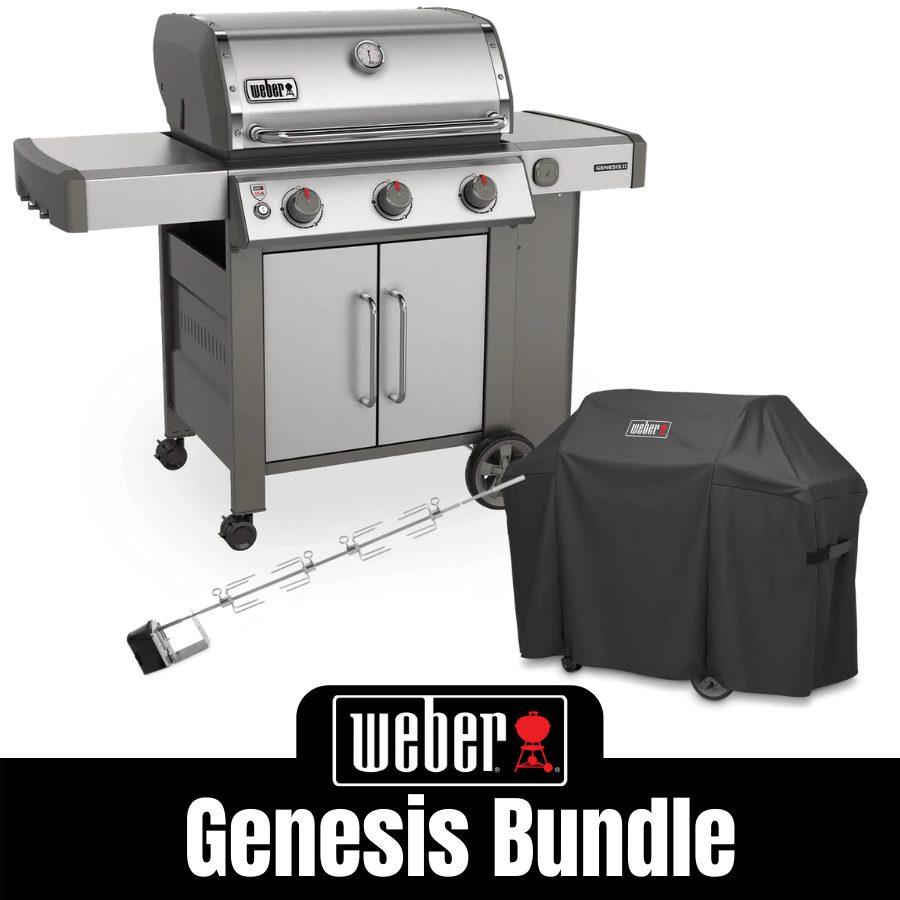 Weber Genesis II S315 - Natural Gas Bundle