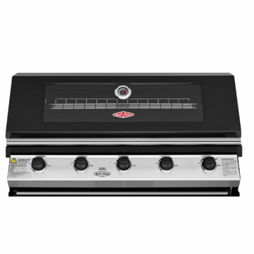 BeefEater 1200 Series Black 5 Burner Built In