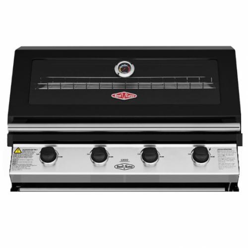BeefEater 1200 Series Black 4 Burner Built In