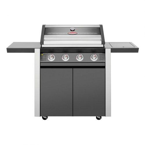 BeefEater 1600 Series Dark 4 Burner BBQ & Trolley
