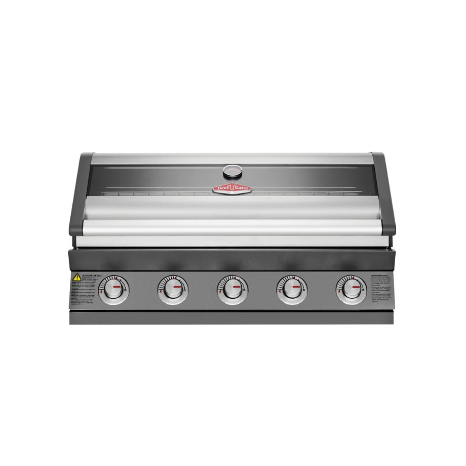 BeefEater 1600 Series Dark 5 Burner Built In BBQ