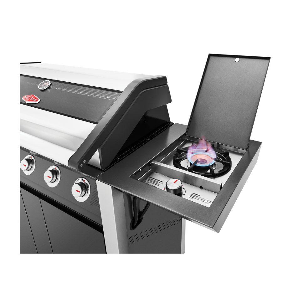 BeefEater 1600 Series Dark 5 Burner BBQ Trolley