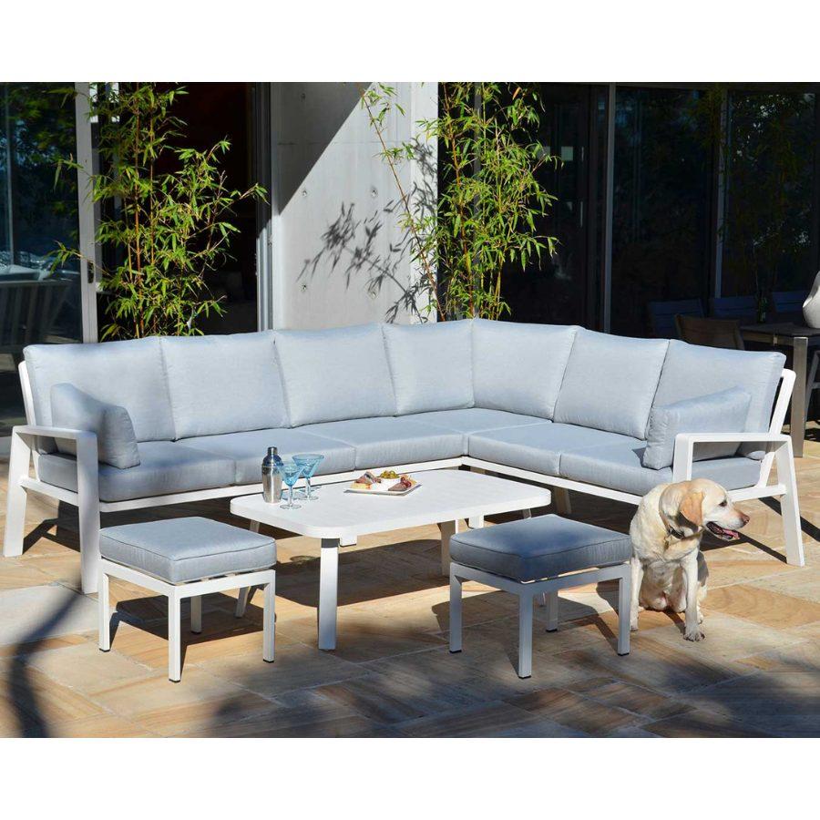 Shelta - Carrington 5 Pce Corner Lounge Setting