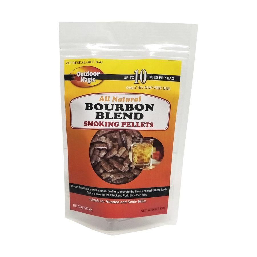 Outdoor Magic - Bourbon Smoking Pellets 450g