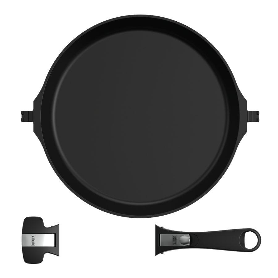 Weber - Round Frying Pan - Large - COMING SOON - ETA LATE OCTOBER