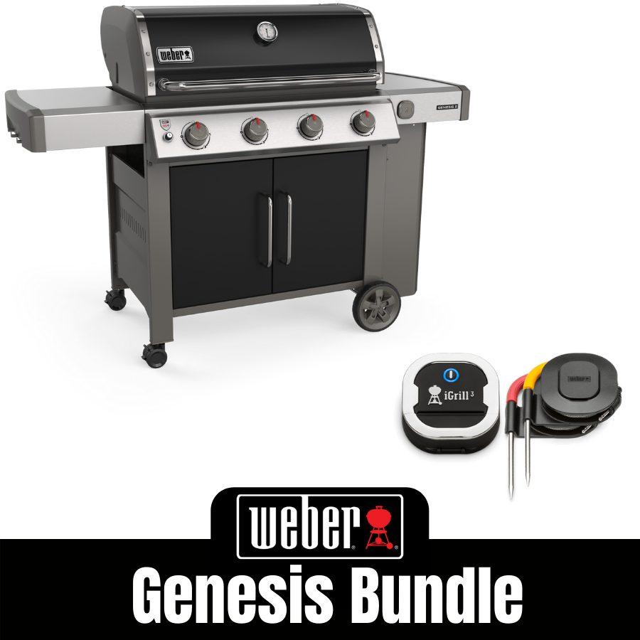 Weber Genesis II E415 - FREE iGrill 3