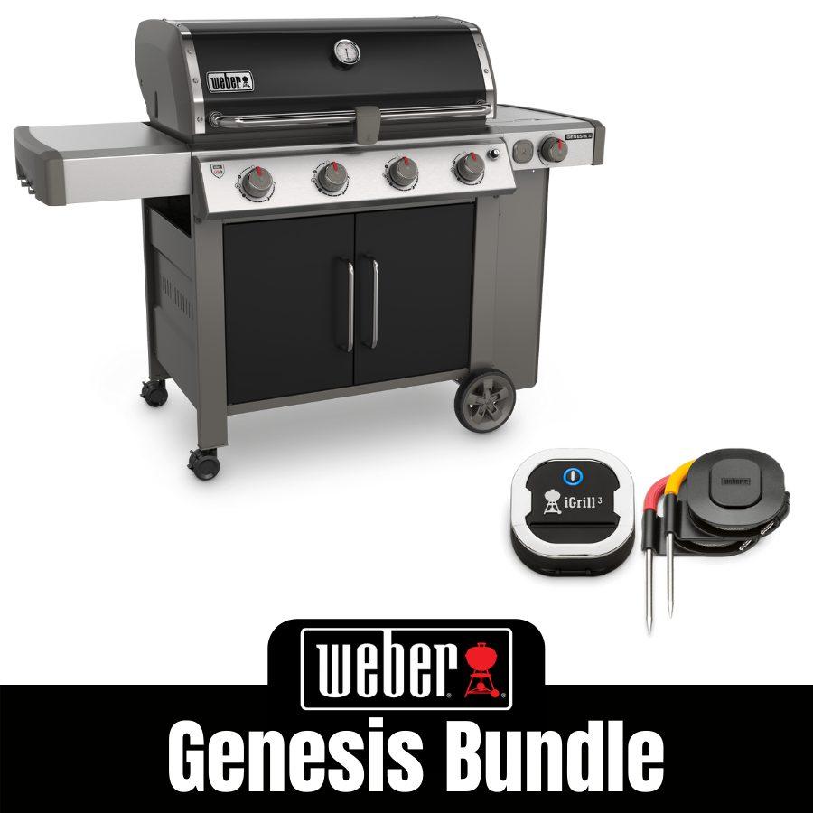 Weber Genesis II E455 - Natural Gas - FREE iGrill 3