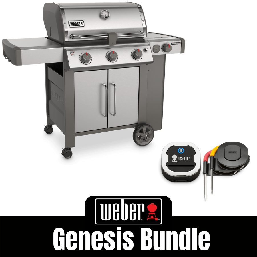 Weber Genesis II S355 - FREE iGrill 3