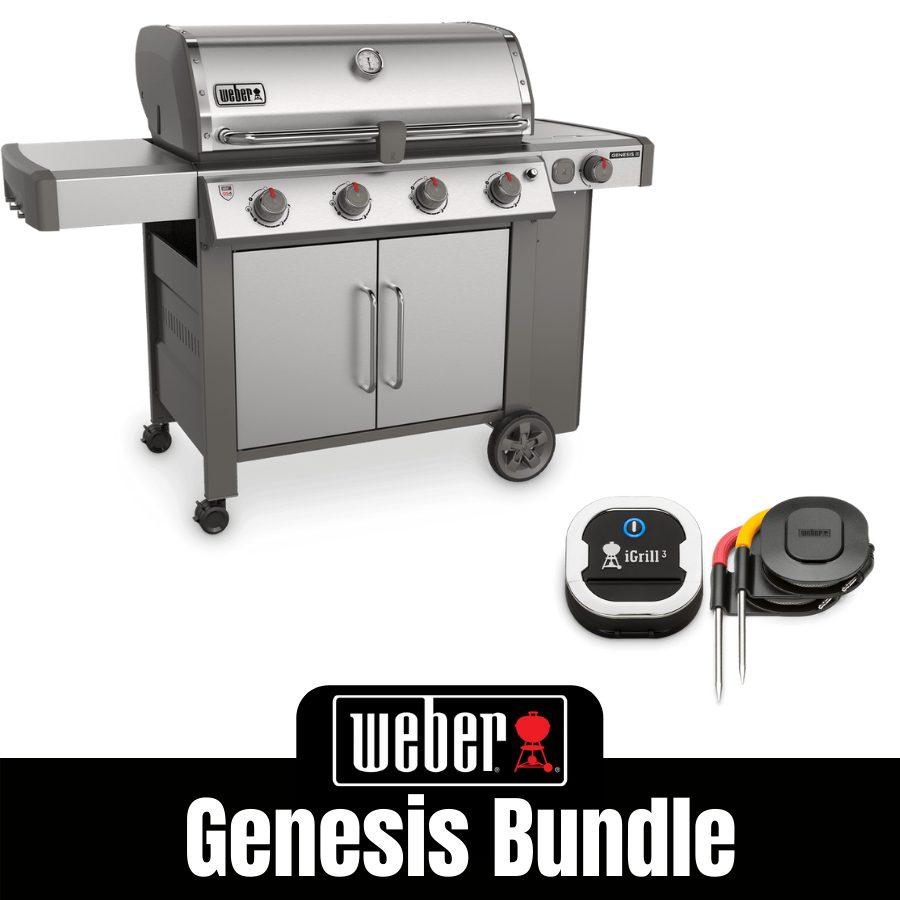 Weber Genesis II S455 - FREE iGrill 3
